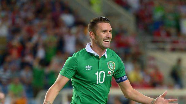Robbie Keane is the Republic of Ireland's record goalscorer