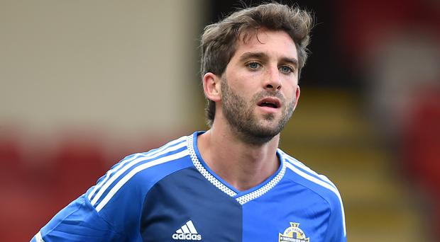 Will Grigg is back in the Northern Ireland squad after helping Wigan to the Sky Bet League One title