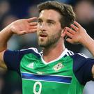 Will Grigg is heading to France with Northern Ireland