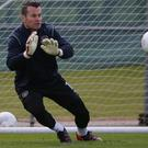 Shay Given is hoping to get the nod in goal