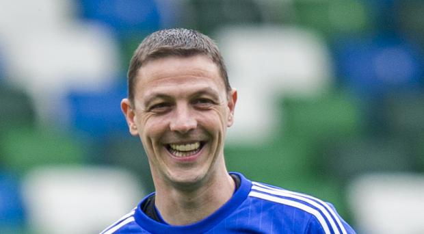 Chris Baird, pictured, has noticed a change in Northern Ireland's mindset since Michael O'Neill came in