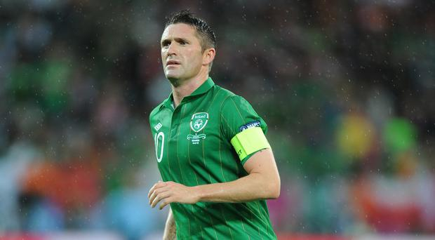 Robbie Keane is out of Ireland's clash with Belarus