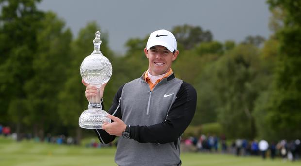 Rory McIlroy was relieved to get his first win of the year in the Irish Open