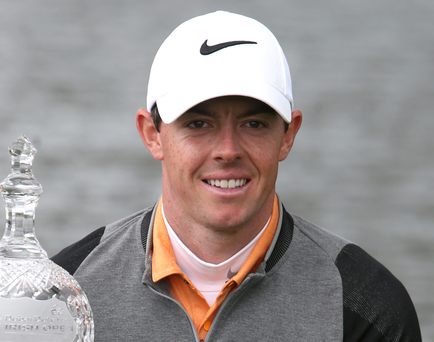 Rory McIlroy has been paired with world No 2 Jordan Spieth for the first two rounds at Muirfield Village (PA)