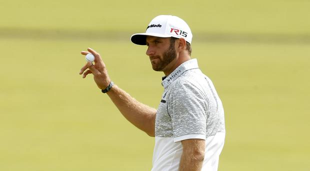 American Dustin Johnson leads the way in Ohio.