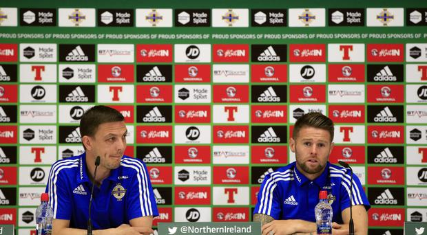 Oliver Norwood, pictured right, has helped Northern Ireland enjoy a 12-game unbeaten run
