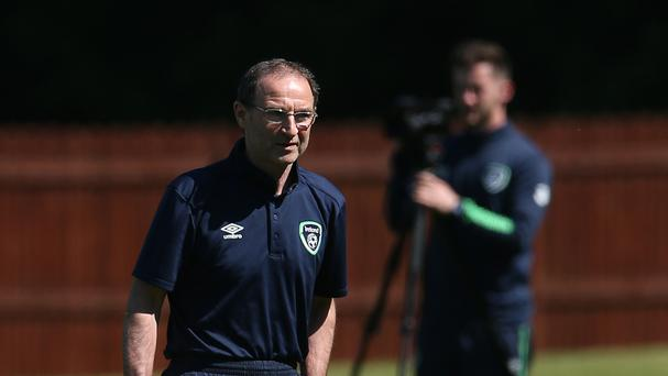 Republic of Ireland manager Martin O'Neill has apologised for an