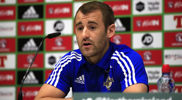 Niall McGinn has not started for Northern Ireland since they qualified for Euro 2016