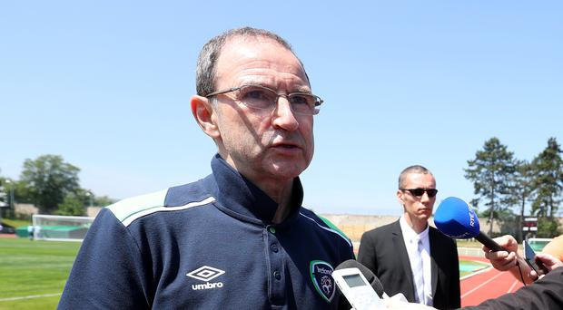 Republic of Ireland manager Martin O'Neill is yet to sign his new contract