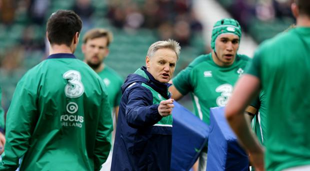 Joe Schmidt has named his Ireland squad for the first Test against South Africa
