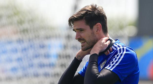 Kyle Lafferty's fitness has been a hot topic this week
