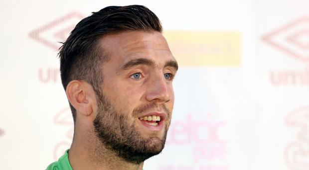 Republic of Ireland's Shane Duffy is ready for a showdown with Zlatan Ibrahimovic