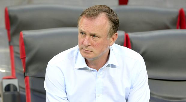 Michael O'Neill will manage a Northern Ireland side at a major finals 30 years on from their most recent appearance