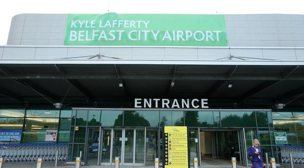 Belfast City Airport has had a temporary rebrand