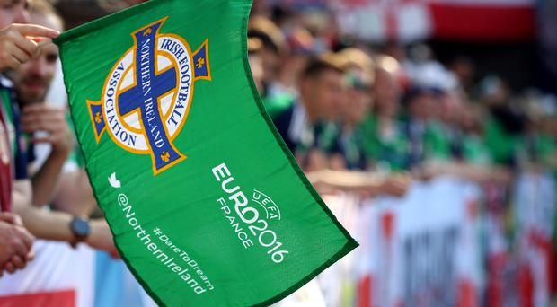 A Northern Ireland fan has died in Nice