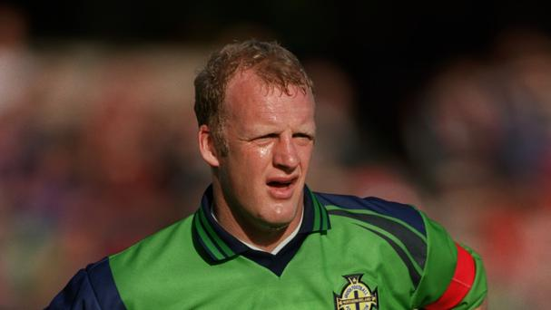 Iain Dowie is the only Northern Irishman to have scored against Ukraine