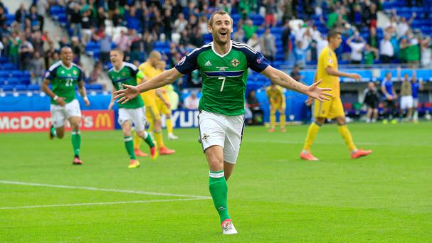 Niall McGinn came off the bench to wrap up victory for Northern Ireland
