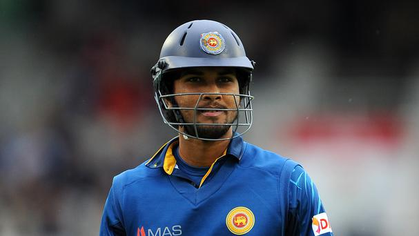Dinesh Chandimal scored a century as Sri Lanka beat Ireland