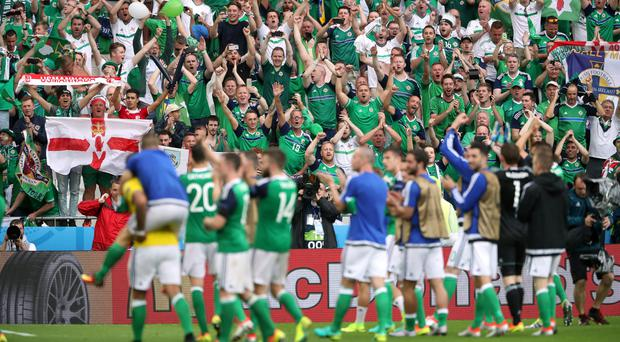 A Northern Ireland fan died during their game with Ukraine