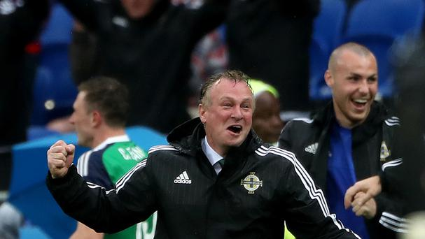 Michael O'Neill's Northern Ireland side face a vital game against Germany next week