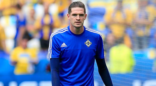 Kyle Lafferty was one of five players dropped in Lyon