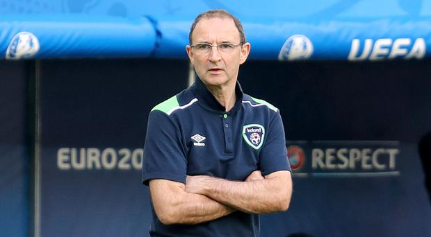 Martin O'Neill guided the Republic of Ireland to victory over Germany in the autumn