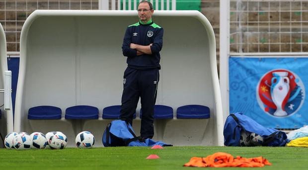 Republic of Ireland manager Martin O'Neill has told his players not to focus on the make-up of Italy's team ahead of their must-win game