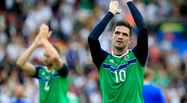 Northern Ireland's Kyle Lafferty believes his side boast one of the best back lines at Euro 2016