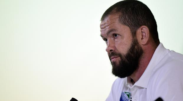 Andy Farrell has enjoyed his first series as Ireland's defensive coach