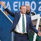 Michael O'Neill is relishing a contest against a fellow home nation