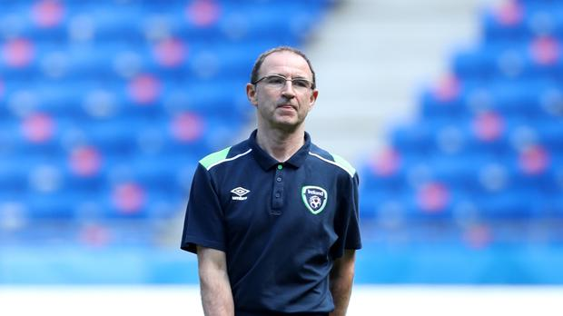 Martin O'Neill wants his players to give their all against France