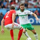 Northern Ireland's Stuart Dallas wants to inspire the next generation of homegrown talent