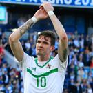Kyle Lafferty thinks his time at Norwich is up