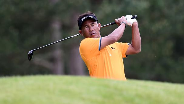 Thailand's Thongchai Jaidee claimed the prize in Paris
