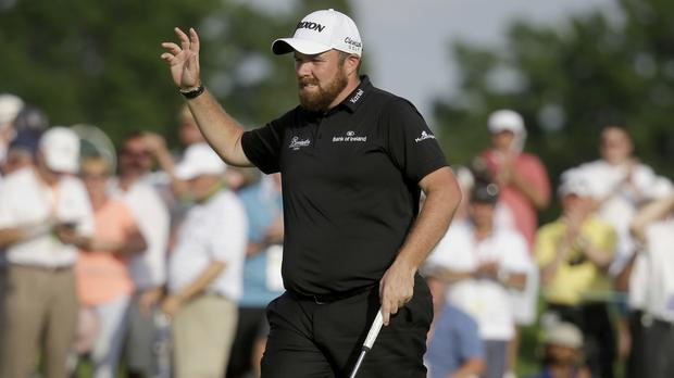 Shane Lowry in action during the US Open at Oakmont. Picture Credit: AP