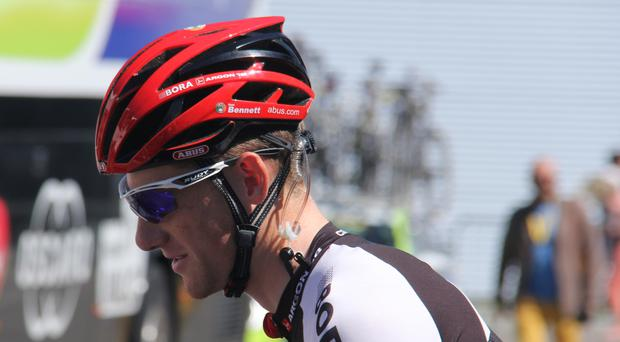 Sam Bennett lies last in the general classification at the Tour de France
