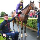 Chadic and trainer Robbie McNamara