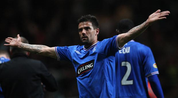 Nacho Novo was a firm fans' favourite during his time at Rangers.