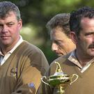 European skipper Darren Clarke, pictured left, has made Sam Torrance his fifth vice-captain
