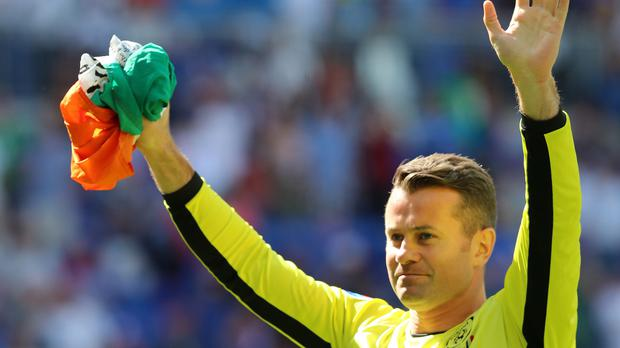 Republic of Ireland goalkeeper Shay Given has retired from international football