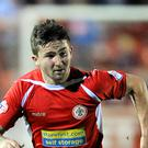 Sean Maguire had chances to bring Cork back into it against Genk