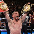 Carl Frampton is bidding for the title once held by his manager