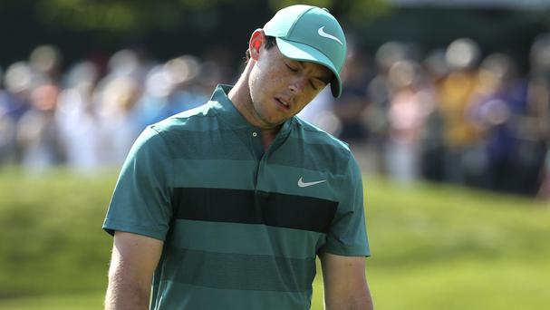 Rory McIlroy labelled his putting as