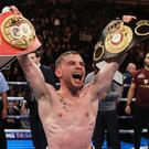 Carl Frampton is a two-weight world champion.