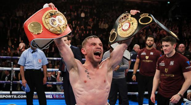 Carl Frampton became a two-weight world champion in July
