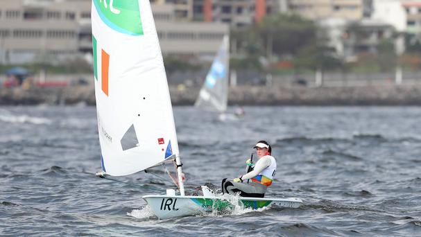 Ireland's Annalise Murphy began her Olympic campaign in Rio on Monday