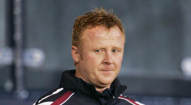 Stephen Frail had a short spell in temporary charge of Hearts in 2008