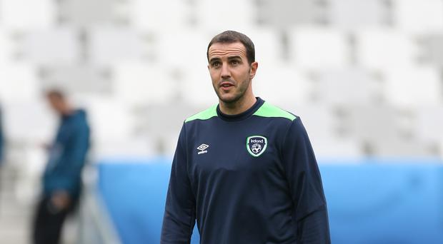 Republic of Ireland's John O'Shea. Photo: PA