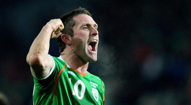 Robbie Keane has made more appearances and scored more goals than anyone else for Ireland