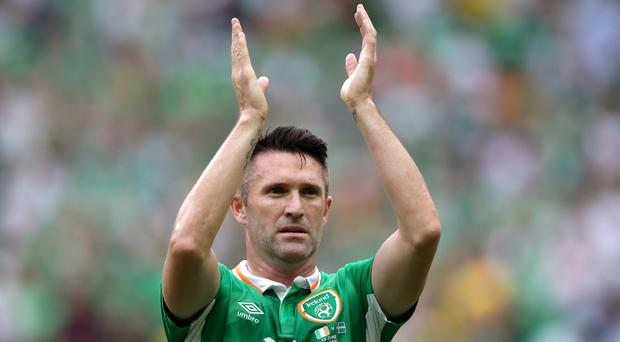 Robbie Keane has announced his international retirement